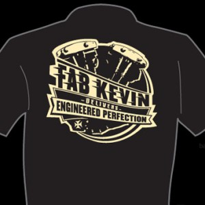 Fabricator Kevin NEW LOGO T-SHIRTS!!!