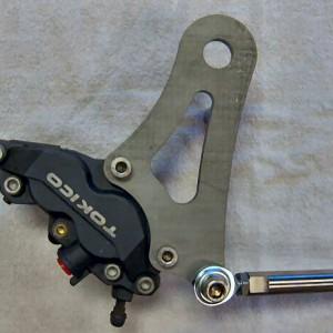 Single Caliper Rear Kits