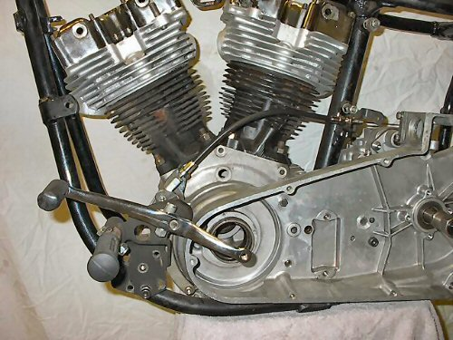 Foot Clutch Cable Kit Fab Kevin Real Steel Motorcycle