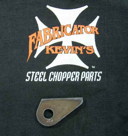 Brake Anchor Frame Tabs
