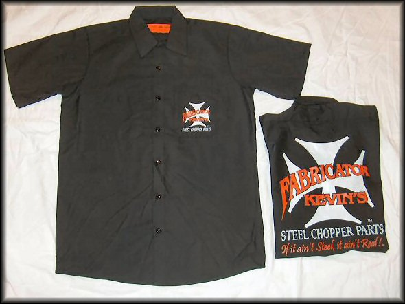 men 39 s work shirt fab kevin real steel motorcycle parts