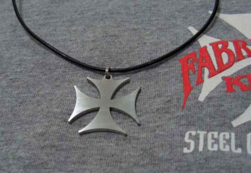 Lady's Iron Cross Necklace