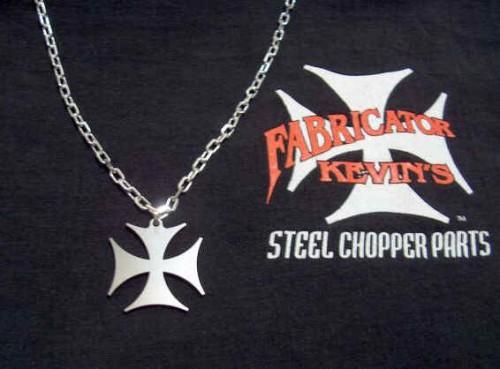 Men's Iron Cross Necklace